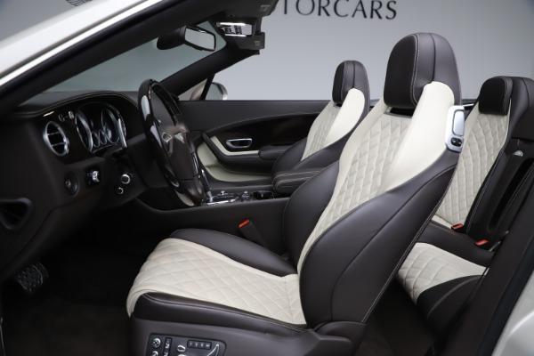Used 2016 Bentley Continental GTC Speed for sale Sold at Alfa Romeo of Westport in Westport CT 06880 27