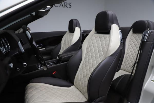 Used 2016 Bentley Continental GTC Speed for sale $149,900 at Alfa Romeo of Westport in Westport CT 06880 28