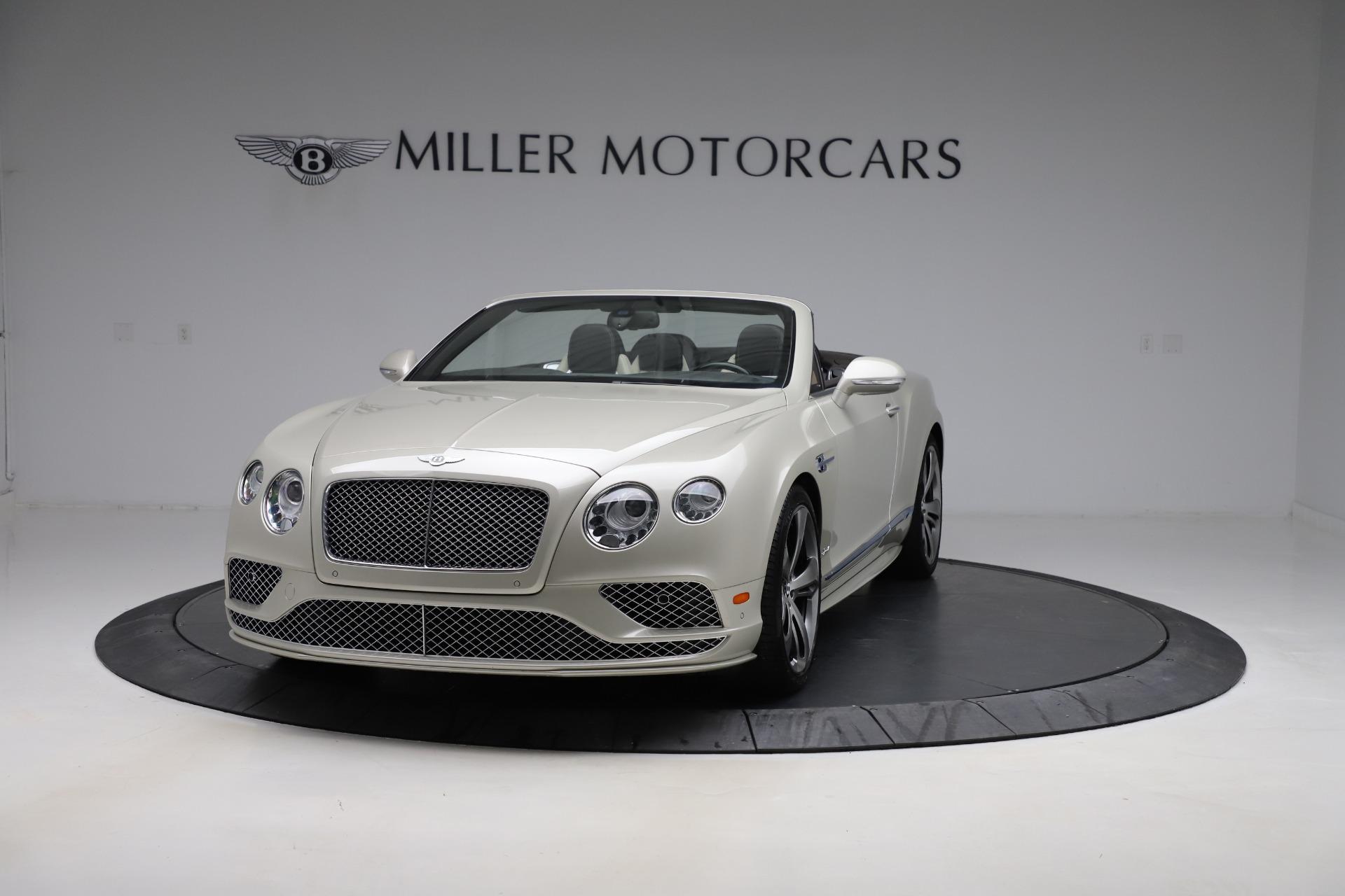 Used 2016 Bentley Continental GTC Speed for sale Sold at Alfa Romeo of Westport in Westport CT 06880 1