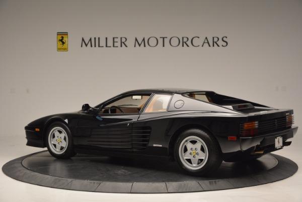 Used 1989 Ferrari Testarossa for sale Sold at Alfa Romeo of Westport in Westport CT 06880 4