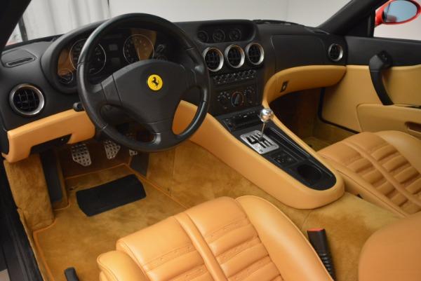 Used 2000 Ferrari 550 Maranello for sale Sold at Alfa Romeo of Westport in Westport CT 06880 13