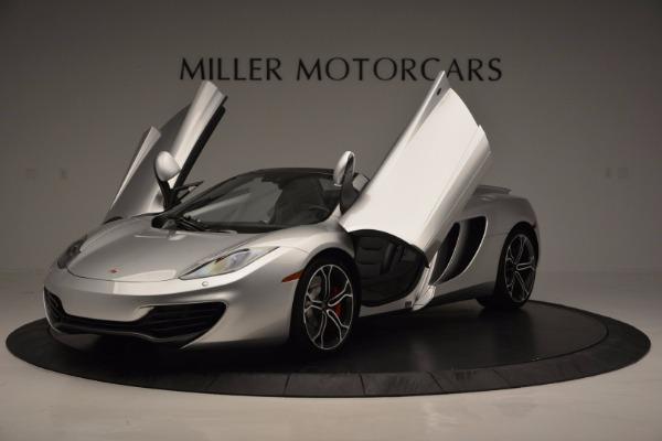 Used 2014 McLaren MP4-12C Spider for sale Sold at Alfa Romeo of Westport in Westport CT 06880 14