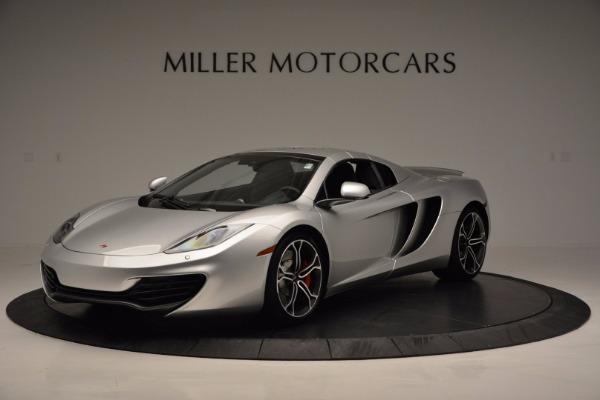 Used 2014 McLaren MP4-12C Spider for sale Sold at Alfa Romeo of Westport in Westport CT 06880 15
