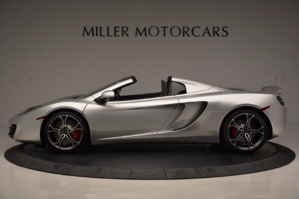 Used 2014 McLaren MP4-12C Spider for sale Sold at Alfa Romeo of Westport in Westport CT 06880 3