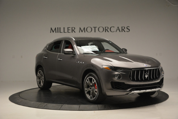 Used 2017 Maserati Levante Ex Service Loaner for sale Sold at Alfa Romeo of Westport in Westport CT 06880 11