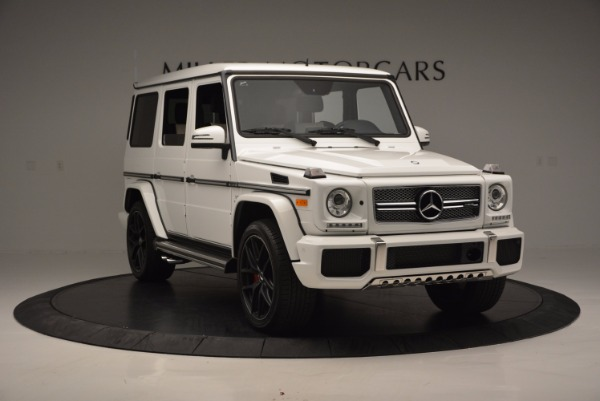 Used 2016 Mercedes Benz G-Class AMG G65 for sale Sold at Alfa Romeo of Westport in Westport CT 06880 11