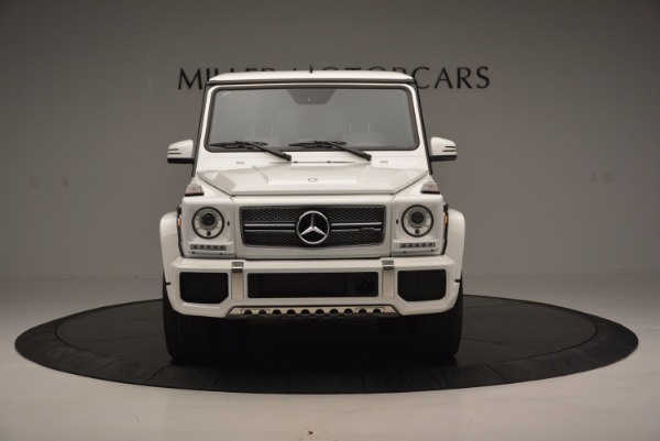 Used 2016 Mercedes Benz G-Class AMG G65 for sale Sold at Alfa Romeo of Westport in Westport CT 06880 12