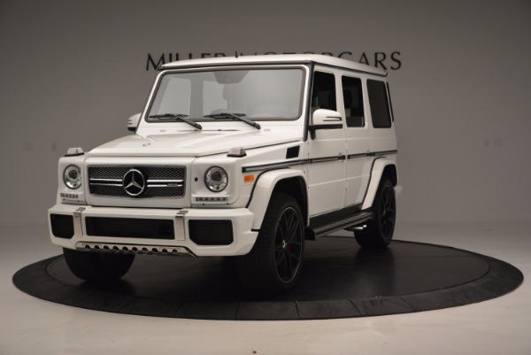 Used 2016 Mercedes Benz G-Class AMG G65 for sale Sold at Alfa Romeo of Westport in Westport CT 06880 1