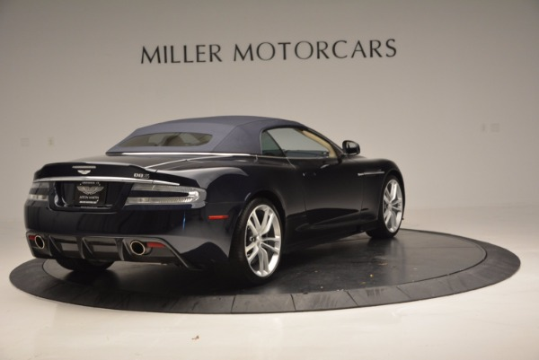 Used 2012 Aston Martin DBS Volante for sale Sold at Alfa Romeo of Westport in Westport CT 06880 19