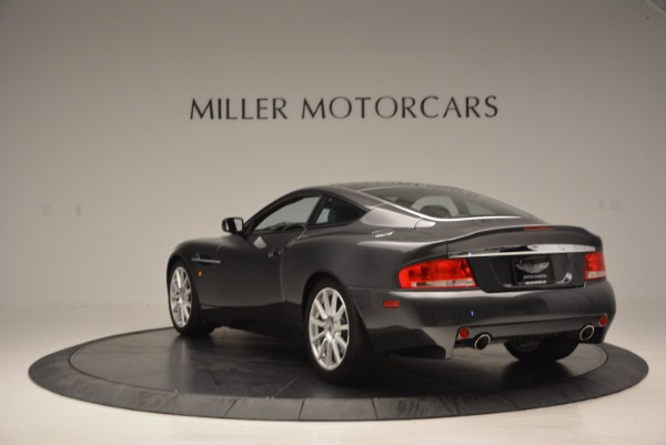 Used 2005 Aston Martin V12 Vanquish S for sale Sold at Alfa Romeo of Westport in Westport CT 06880 5
