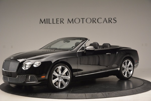Used 2013 Bentley Continental GTC for sale Sold at Alfa Romeo of Westport in Westport CT 06880 2