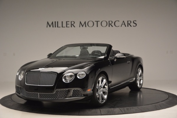 Used 2013 Bentley Continental GTC for sale Sold at Alfa Romeo of Westport in Westport CT 06880 1