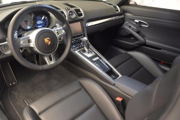 Used 2014 Porsche Cayman S for sale Sold at Alfa Romeo of Westport in Westport CT 06880 13