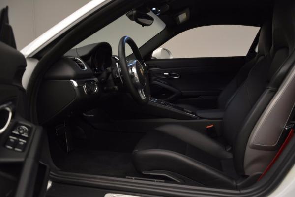 Used 2014 Porsche Cayman S for sale Sold at Alfa Romeo of Westport in Westport CT 06880 14