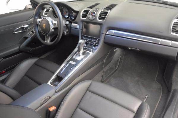 Used 2014 Porsche Cayman S for sale Sold at Alfa Romeo of Westport in Westport CT 06880 16