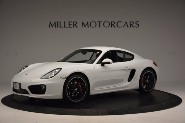 Used 2014 Porsche Cayman S for sale Sold at Alfa Romeo of Westport in Westport CT 06880 2