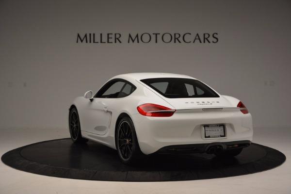 Used 2014 Porsche Cayman S for sale Sold at Alfa Romeo of Westport in Westport CT 06880 5