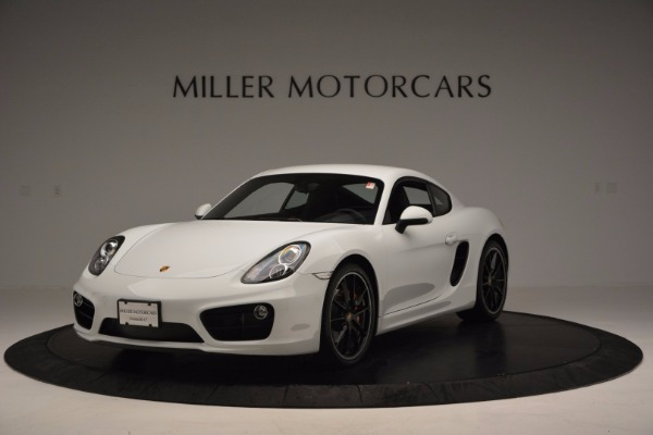 Used 2014 Porsche Cayman S for sale Sold at Alfa Romeo of Westport in Westport CT 06880 1