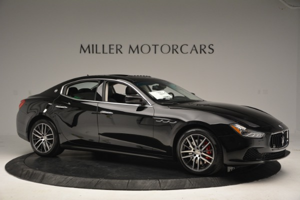 Used 2016 Maserati Ghibli S Q4  EX-LOANER for sale Sold at Alfa Romeo of Westport in Westport CT 06880 10