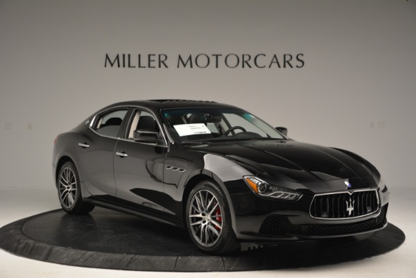 Used 2016 Maserati Ghibli S Q4  EX-LOANER for sale Sold at Alfa Romeo of Westport in Westport CT 06880 11