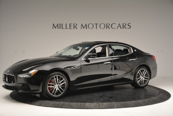 Used 2016 Maserati Ghibli S Q4  EX-LOANER for sale Sold at Alfa Romeo of Westport in Westport CT 06880 2