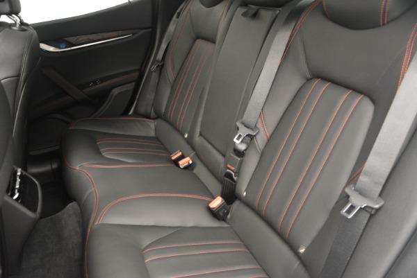Used 2016 Maserati Ghibli S Q4  EX-LOANER for sale Sold at Alfa Romeo of Westport in Westport CT 06880 18