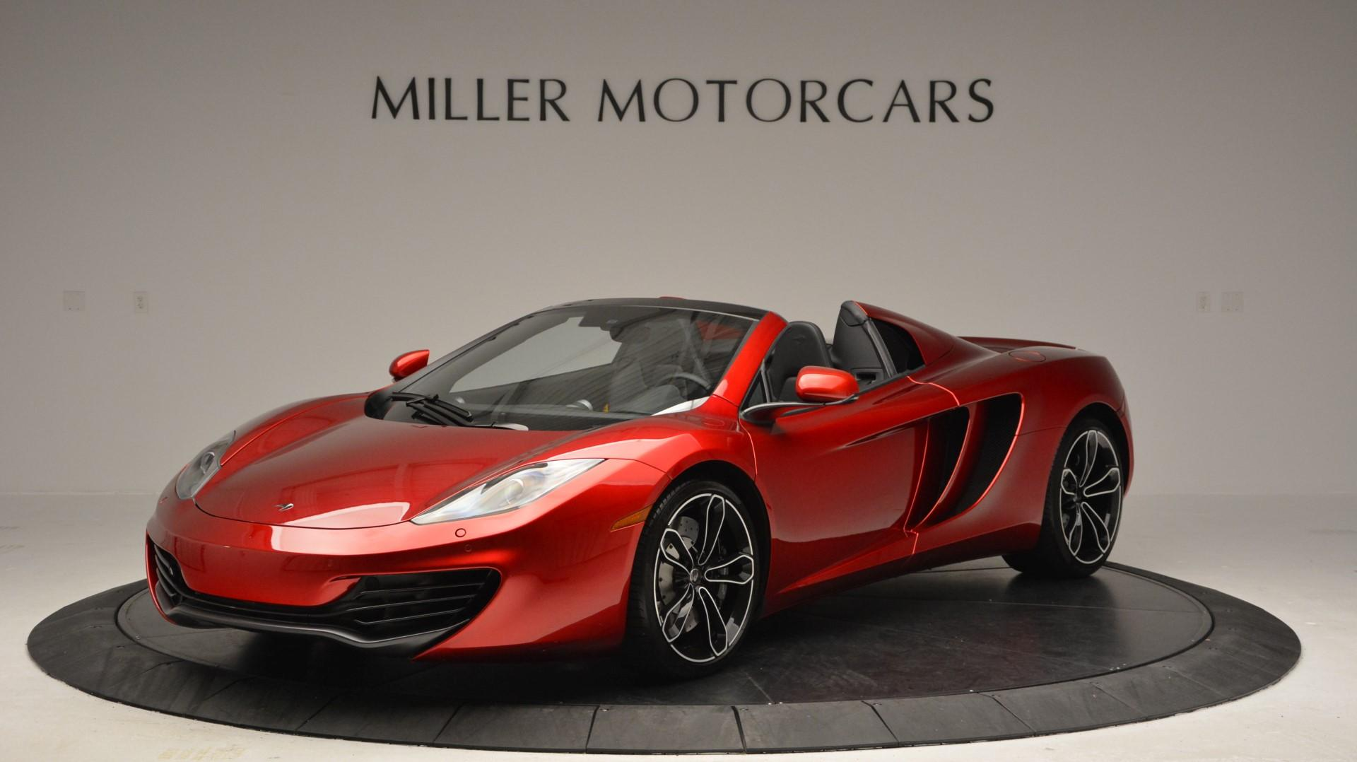 Used 2013 McLaren 12C Spider for sale Sold at Alfa Romeo of Westport in Westport CT 06880 1