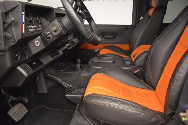 Used 1997 Land Rover Defender 90 for sale Sold at Alfa Romeo of Westport in Westport CT 06880 14
