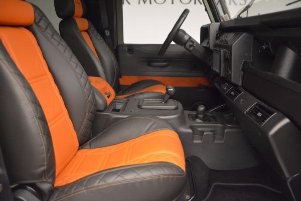 Used 1997 Land Rover Defender 90 for sale Sold at Alfa Romeo of Westport in Westport CT 06880 18