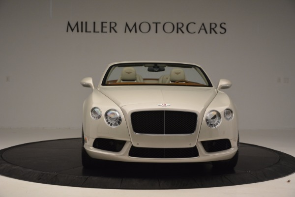 Used 2013 Bentley Continental GTC V8 for sale Sold at Alfa Romeo of Westport in Westport CT 06880 12