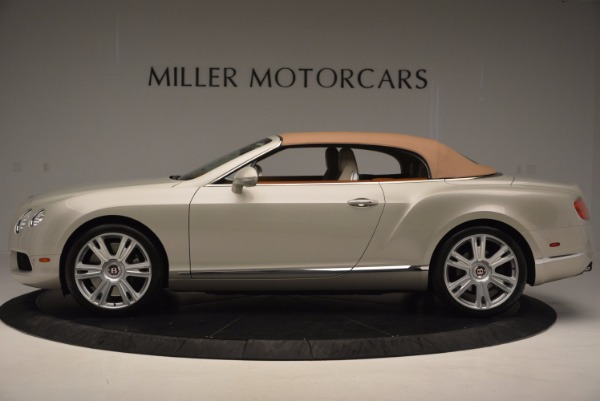 Used 2013 Bentley Continental GTC V8 for sale Sold at Alfa Romeo of Westport in Westport CT 06880 16