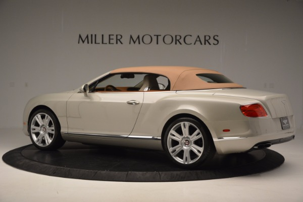 Used 2013 Bentley Continental GTC V8 for sale Sold at Alfa Romeo of Westport in Westport CT 06880 17