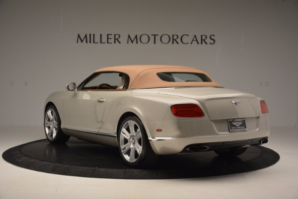 Used 2013 Bentley Continental GTC V8 for sale Sold at Alfa Romeo of Westport in Westport CT 06880 18