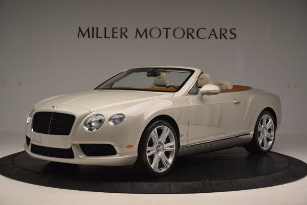 Used 2013 Bentley Continental GTC V8 for sale Sold at Alfa Romeo of Westport in Westport CT 06880 2