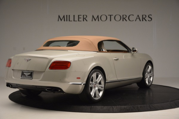 Used 2013 Bentley Continental GTC V8 for sale Sold at Alfa Romeo of Westport in Westport CT 06880 20
