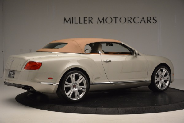 Used 2013 Bentley Continental GTC V8 for sale Sold at Alfa Romeo of Westport in Westport CT 06880 21