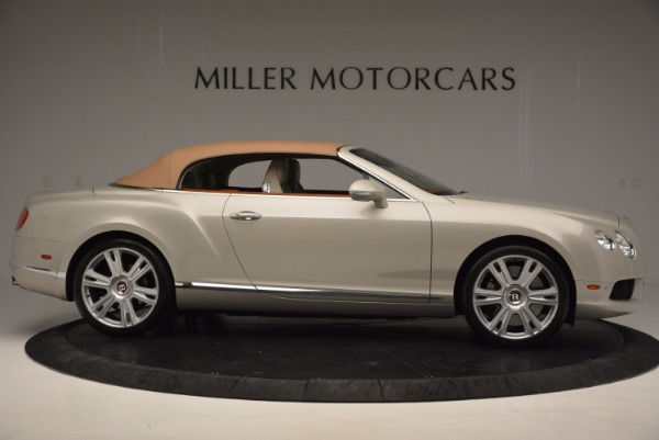 Used 2013 Bentley Continental GTC V8 for sale Sold at Alfa Romeo of Westport in Westport CT 06880 22