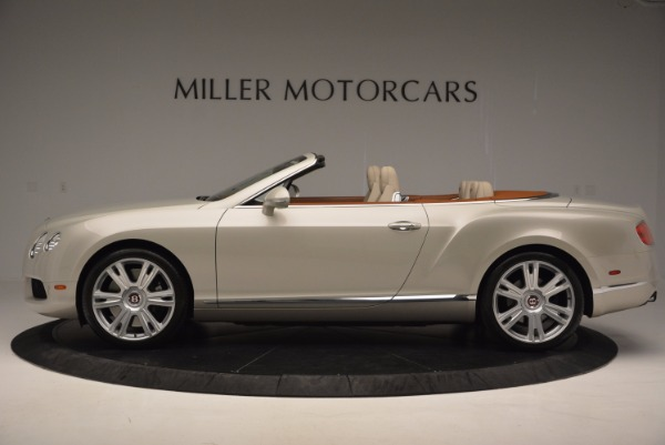 Used 2013 Bentley Continental GTC V8 for sale Sold at Alfa Romeo of Westport in Westport CT 06880 3