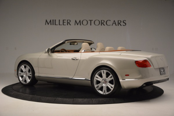 Used 2013 Bentley Continental GTC V8 for sale Sold at Alfa Romeo of Westport in Westport CT 06880 4