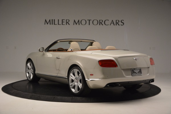 Used 2013 Bentley Continental GTC V8 for sale Sold at Alfa Romeo of Westport in Westport CT 06880 5