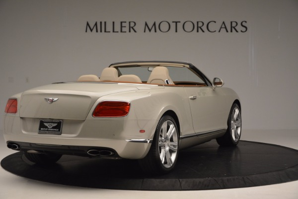 Used 2013 Bentley Continental GTC V8 for sale Sold at Alfa Romeo of Westport in Westport CT 06880 7