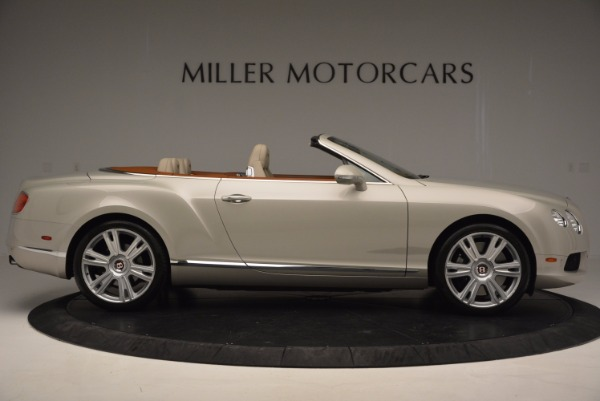 Used 2013 Bentley Continental GTC V8 for sale Sold at Alfa Romeo of Westport in Westport CT 06880 9