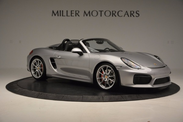 Used 2016 Porsche Boxster Spyder for sale Sold at Alfa Romeo of Westport in Westport CT 06880 10