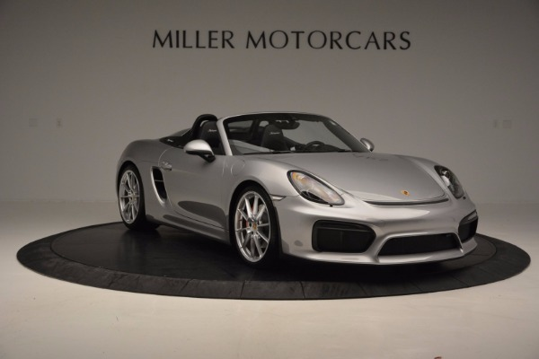 Used 2016 Porsche Boxster Spyder for sale Sold at Alfa Romeo of Westport in Westport CT 06880 11