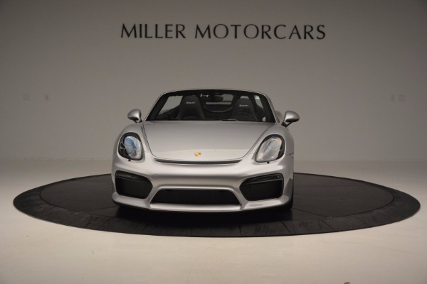 Used 2016 Porsche Boxster Spyder for sale Sold at Alfa Romeo of Westport in Westport CT 06880 12