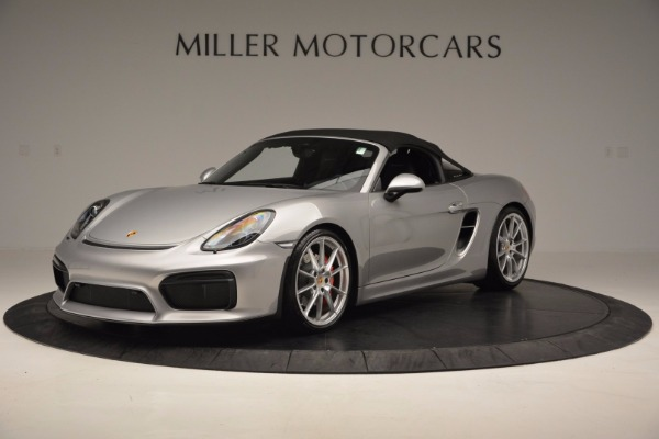 Used 2016 Porsche Boxster Spyder for sale Sold at Alfa Romeo of Westport in Westport CT 06880 13