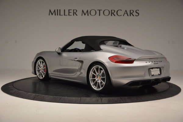 Used 2016 Porsche Boxster Spyder for sale Sold at Alfa Romeo of Westport in Westport CT 06880 15