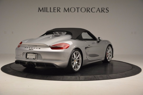 Used 2016 Porsche Boxster Spyder for sale Sold at Alfa Romeo of Westport in Westport CT 06880 17