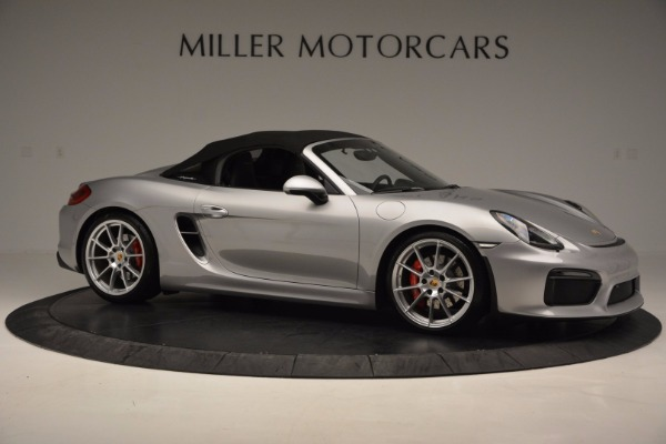 Used 2016 Porsche Boxster Spyder for sale Sold at Alfa Romeo of Westport in Westport CT 06880 19