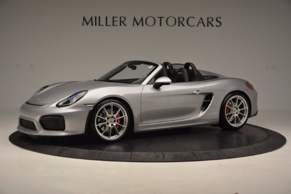 Used 2016 Porsche Boxster Spyder for sale Sold at Alfa Romeo of Westport in Westport CT 06880 2